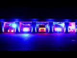 German Fire Truck Light Show (Firehouse 3)
