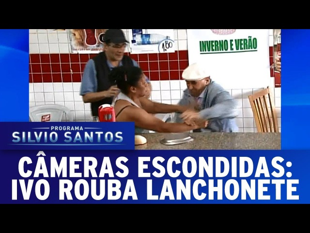 Ivo Rouba Lanchonete | Câmeras Escondidas (30/07/17)