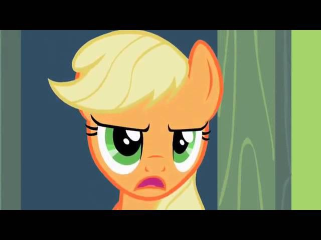 Applejack cant sleep while others are clopping