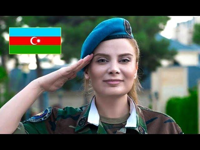 Ordumuzun Herbici xanimlari - Azerbaycan ordusu 2017 Azerbaijan army