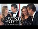 Elizabeth Olsen Jeremy Renner PDA At Wind River Los Angeles Premiere