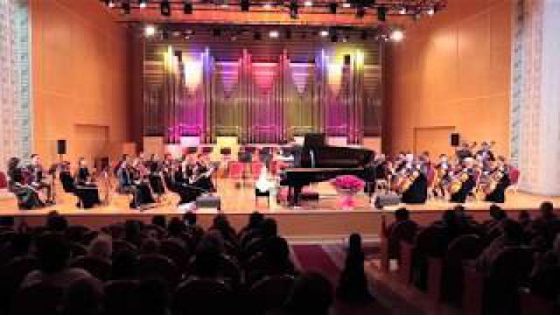 Альсана Сатылганова Ю. Полунин Концертино для фортепиано с оркестром
