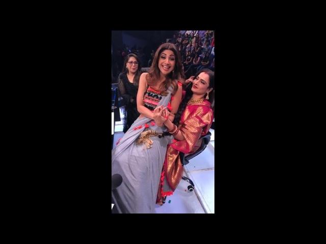 Shilpa Shetty LIVE with Rakha Ji from Super Dancer 2