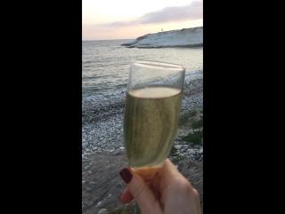 #mediterraneansea #sunset#whiterocks #seaview