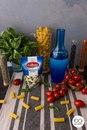 Супербыстрая паста с моцареллой и томатами