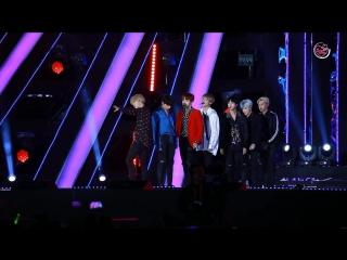 `FANCAM` 171101 Bangtan - DNA @ 2018 Pyeongchang Winter Olympics D-100 Kpop Concert.