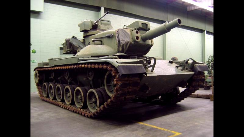 Загляни в реальный танк М60А2 Паттон. В командирской рубке [World of Tanks]