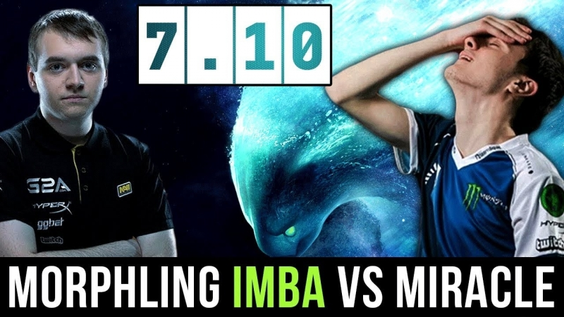 [hOlyhexOr] NaVi.Crystallize Imba Morphling 7.10 New Patch Countering Miracle- Puck Dota 2