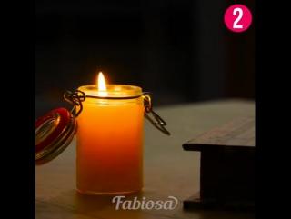 Ароматизированные свечи своими руками.