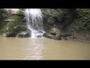 Адыгея внучка на водопаде Девичья коса