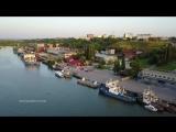 Азовская Крепость и Азовский Морской Порт на закате (3.07.2017)