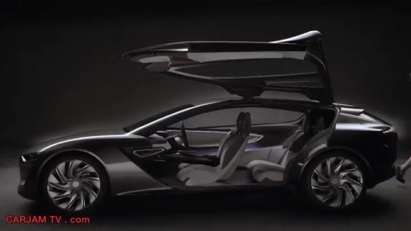 Opel Monza HD Hybrid Gullwing Sexy Commercial 2014 GM Concept Electric Car Carjam TV HD