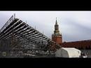 На Красной площади началась подготовка к фестивалю Спасская башня
