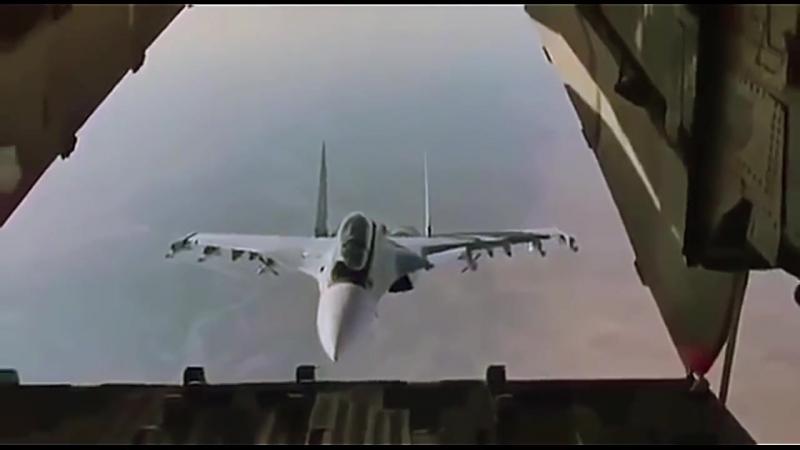 Фантастический маневр российского истребителя Су-30СМ.mp4