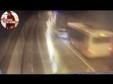 ДТП с Lexus и рейсовым автобусом в Сочи