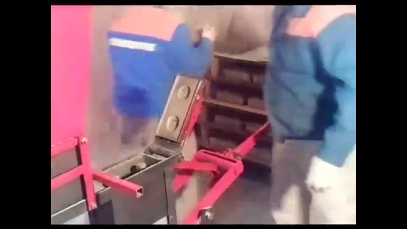 Производство кирпича в домашних условиях часть 1
