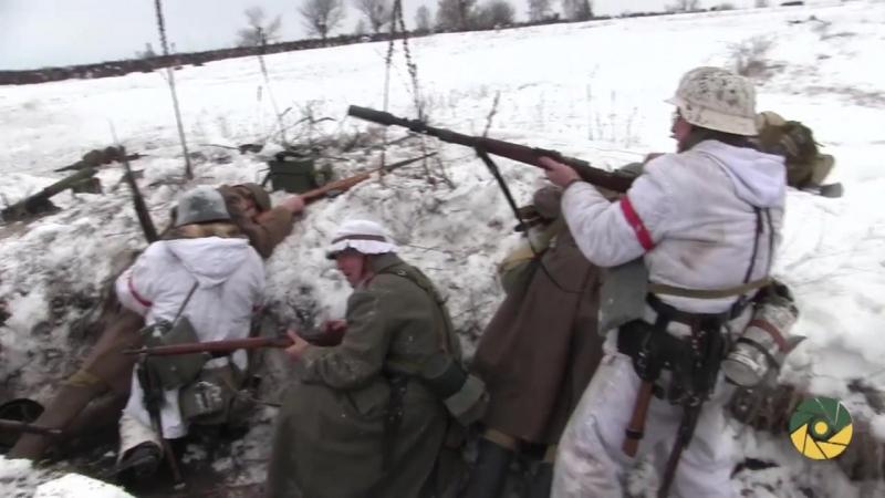 75-та річниця битви біля с. Соколове. Реконструкція бою
