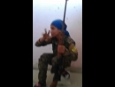 Kurdish sniper giggles after ISIS terrorist's bullet misses her head by INCHES