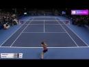 WTA Люксембург Петкович А Мартич П Обзор матча 17 10 2017
