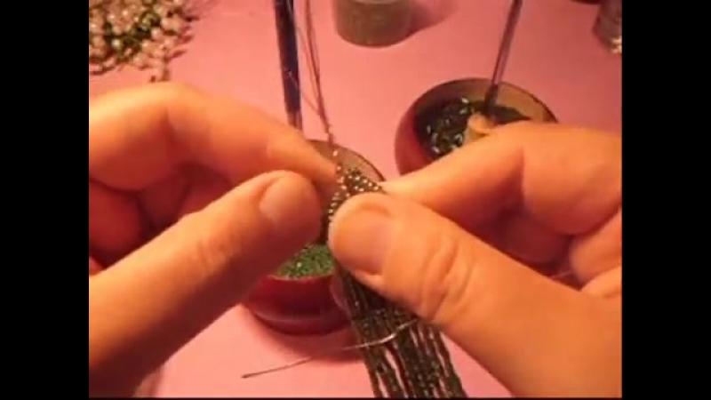 Ландыши из бисера