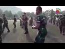 Khalwa Alya Nairi зажигает БУЙ БУЙ БУЙ Военно морские силы Индонезии Подн mp4