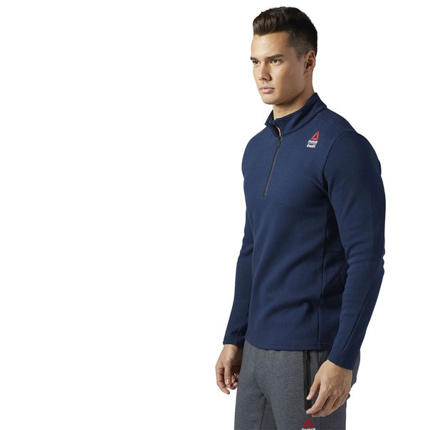 Джемпер Reebok CrossFit Perform 1/4 Zip Fleece