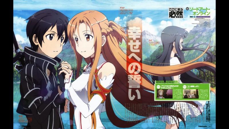 Sword Art Online / Мастера меча онлайн 1 сезон. 1-5 серии.