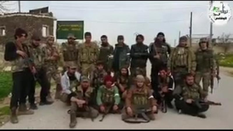 TSK destekli ÖSO birlikleri Afrinin Cinderesi bölgesindeki Aşağı ve Yukarı Marvanlı köylerini terör örgütü YPGPKKdan ele geç