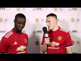 Турнир между игроками Манчестер Юнайтед - FIFA 18