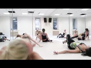 Pole dance, стрип-пластика, exotic pole dance в Минске - в стиле timelapse