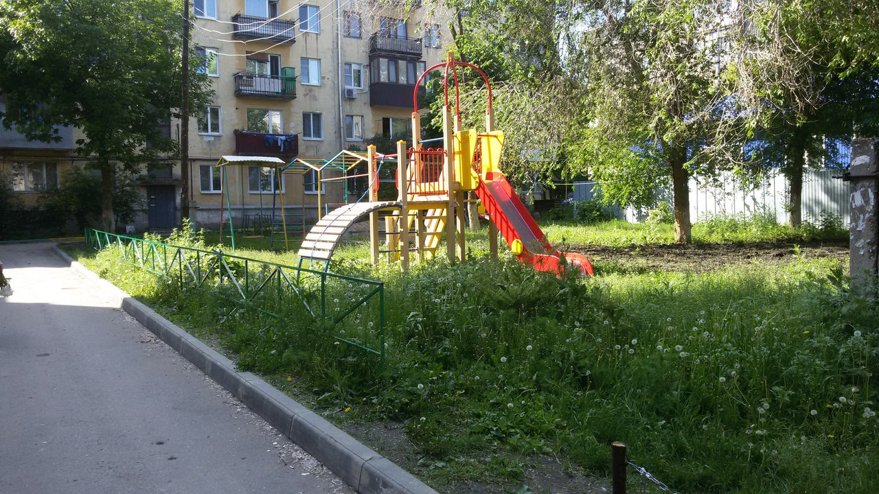 Детская площадка в моем дворе