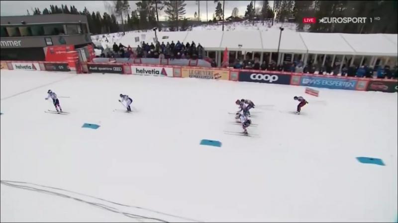 Лыжные гонки_ СПРИНТ ФИНАЛЫ [классика] Кубок Мира Лиллехаммер 2 декабря 2017 года