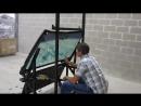 Калаш против пуленепробиваемого стекла или на чем ездят инкасаторы