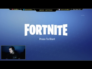 Nitro playing Fortnite LIVE