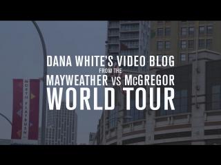 Dana White's Video Blog - MAY-MAC WORLD TOUR - Episode 5