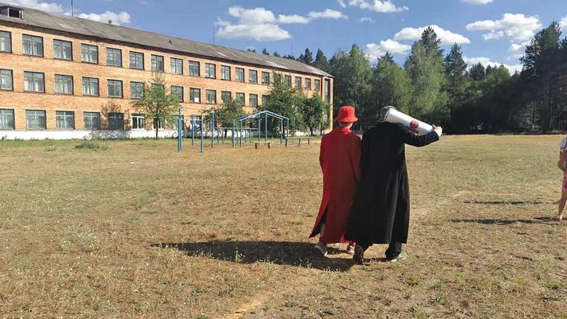 Угар, детский лагерь, игра Авия Катастрофа - Тает лед.