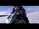 FASTEST MOTORCYCLE WHEELIE ON ICE - Robert Gull - OFFICIAL!