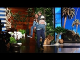 Ellen Gets Close to Ryan Gosling with an Epic Entrance RUS SUB
