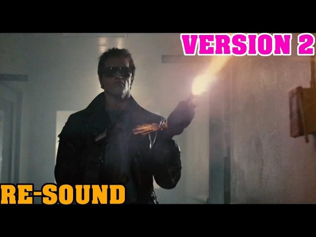 The Terminator - Police Station Shootout (Re-Sound) (VERSION 2) (1080p)