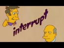 Steamed Hams but they don't let each other finish talking