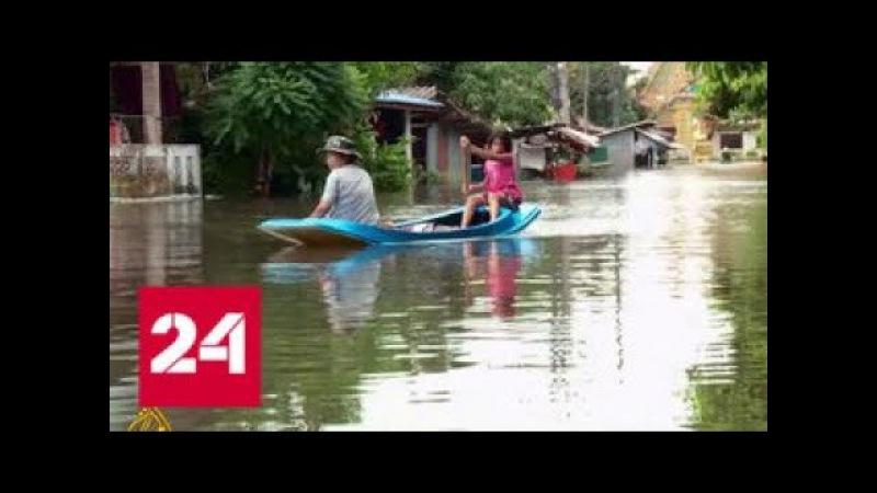 Не менее 15 человек стали жертвами наводнения в Таиланде - Россия 24