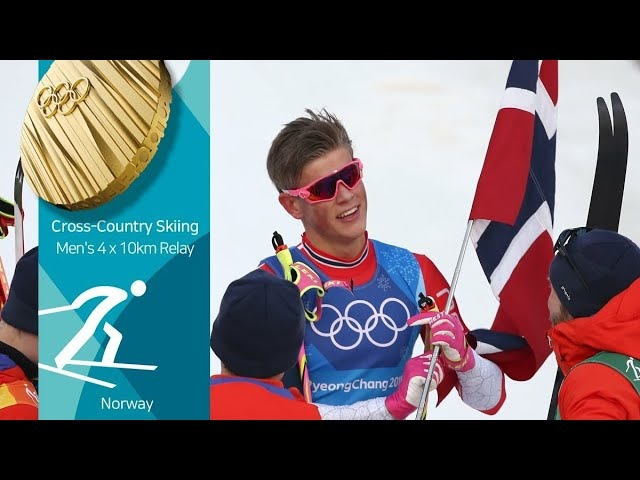 Klaebo clinches majestic relay gold for Norway
