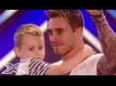 Hot Dad Joseph Whelan ROCKS The Stage Melts Everyone's Heart With Whole Lotta Love