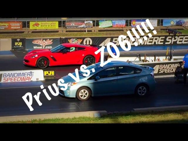 Take It To The Strip! E.1 - Prius vs. Z06!