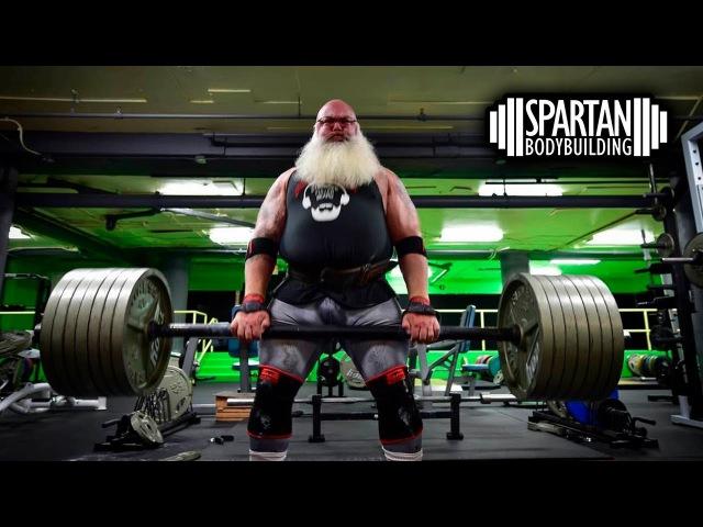 Big Bad Santa training for Christmas | SPARTAN BODYBUILDING