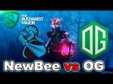 NewBee vs OG The Bucharest Major 2018 Dota 2