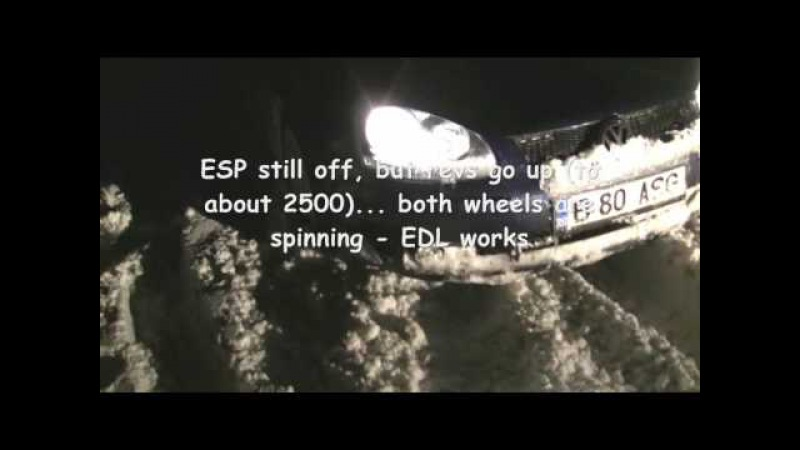 EDL - Electronic Differential Lock - from Volkswagen