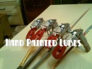 Hand Painted Fishing Lures