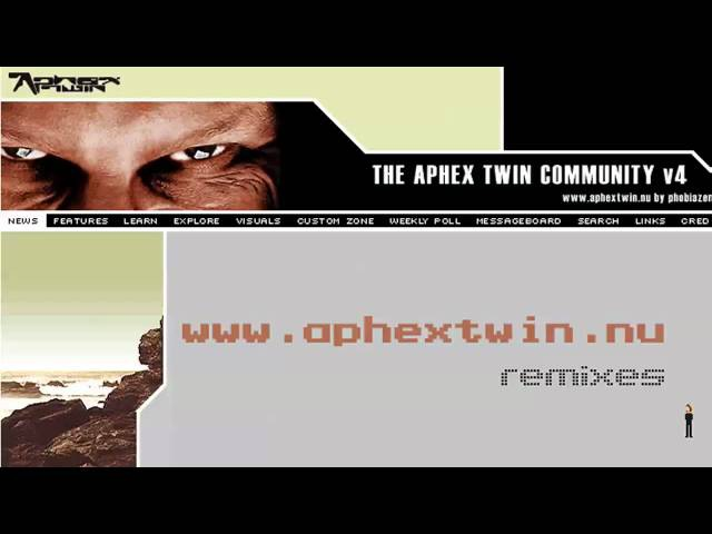 Aphex Twin The Nimoys - Funny Little Man (Acapella Mix)