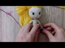 Как связать платье принцессы для куклы крючком